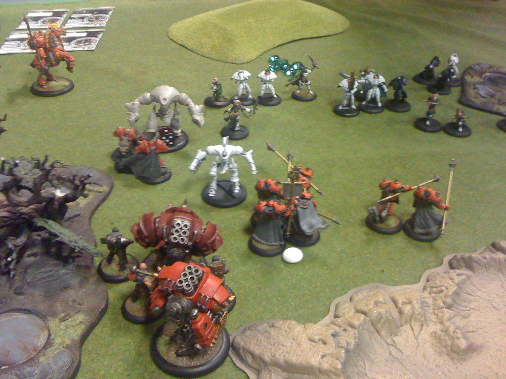 Khador vs Retribution